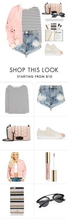 """""""Sassyselfie.com"""" by yexyka ❤ liked on Polyvore featuring Yves Saint Laurent, One Teaspoon, Rebecca Minkoff, adidas Originals, Kate Spade, Urban Outfitters and sassyselfie"""