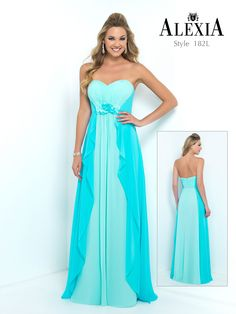Style 182l in Aqua-Turquoise #Bridesmaid #style #fashion #luxury #B2B