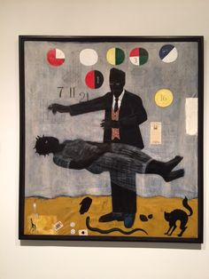 """When Frustration Threatens Desire"" by Kerry James Marshall at the Met Breuer"
