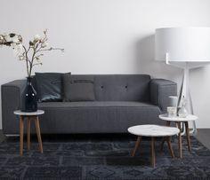 Zuiver salontafel White Stone   Tafels   FunDesign.nl - 150 euro