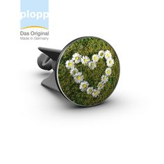 "plopp Waschbeckenstöpsel ""daisy heart""  #plopp #bath #bathroom #Badezimmer #Geschenkidee 'Muttertag"