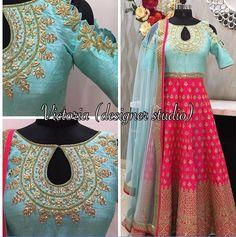 Indian Gowns, Indian Attire, Pakistani Dresses, Indian Wear, Indian Outfits, Lehenga Designs, Kurta Designs, Blouse Designs, Hindus