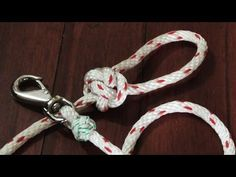 Make A Dog Leash Out Of Rope - Step By Step How To - YouTube