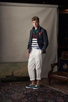 Polo Ralph Lauren Spring 2019 Menswear collection, runway looks, beauty,  models, and d450a351e04