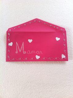Fête des mamans( enveloppe couture)