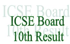ICSE 10th Result 2016, www.cisce.org, ICSE Board 10th Class Results 2016