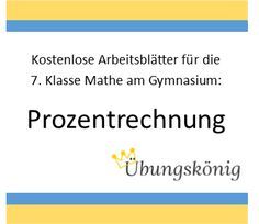 33 best Mathe | Gymnasium images on Pinterest | Free worksheets ...
