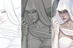 Artist Jenny Frison has become a favorite of readers and editors alike for her typically spooky and frequently alluring cover illustrations for such comic books as DC Comics' I, Vampire, Image's Hack/Slash and IDW Publishing's Angel & Ghost. Such a repertoire makes Frison the (super)natural choice as the face of Ghost #0, coming this Se