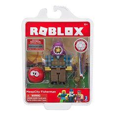 56374dbaad58d5 Roblox Meepcity Fisherman Figure Toy Pack Action Figures New Code Meep City  Kids