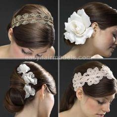flowers in mitch hair