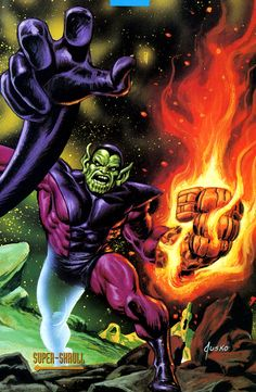 Super-Skrull by Joe Jusko