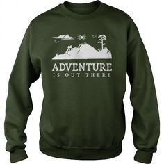 Awesome Tee Adventure Is Out There Walking Hiking Trekking T Shirt Shirt; Tee