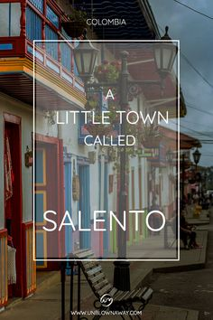 Salento is a colourful little town in the heart of the coffee region, a great getaway for a few days - check out the top things to do! Stuff To Do, Things To Do, Mountain View, Travel Photography, Coffee, Heart, Day, Check, Colombia