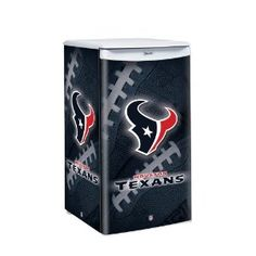 nfl houston texans counter top refrigerator