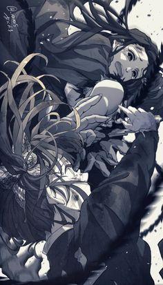 Otaku Anime, Manga Anime, Anime Demon, Anime Eyes, Anime Art, Demon Slayer, Slayer Anime, Hipster Drawings, Sad Anime Girl