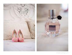 Kristin Vining Photography, wedding, wedding day, Kristin Vining, coral shoes, flower bomb, perfume