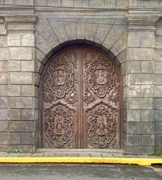 Intramuros, Philippines - Nov. 1, 2014  *General Luna Street