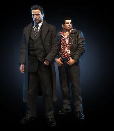 from the story Mafia II. Mafia Game, Mafia 2, Xbox 360, Vikings, Game Character, Character Ideas, Character Design, Ghost Hunters, Gangsters