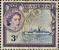 Gambia 1953 Queen Elizabeth II SG 175 Fine Used SG 175 Scott 157 Other British Commonwealth Stamps for sale Here