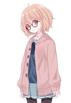 【二次・ZIP】眼鏡、黒タイツ、ドジっ娘とか色々属性が最強すぎる栗山未来ちゃんの画像まとめ《境界の彼方》 | 桃色虹画像 -二次元萌え画像エロ画像まとめ-