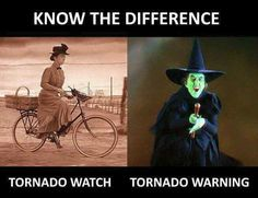 Are you searching for the funniest tornado watch vs warning memes right now? Check out the top 10 best and funny tornado watch vs warning memes below. Wizard Of Oz Tornado, Tornado Watch, Wizard Of Oz Quotes, Wizard Of Oz 1939, Tornado Warning, Yellow Brick Road, Wicked Witch, Wizard Of Oz Witch, Severe Weather