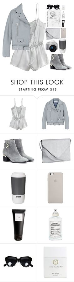 """Untitled #2763"" by wtf-towear ❤ liked on Polyvore featuring Acne Studios, Nicholas Kirkwood, Eos, H&M, ROOM COPENHAGEN, Eight & Bob and Maison Margiela"
