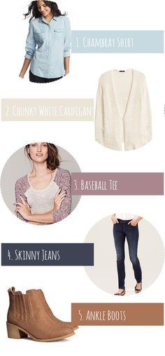 5 Winter to Spring Wardrobe Essentials