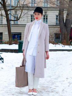 Elegant ease at Stockholm fashion week. Me likey #FaceHunter