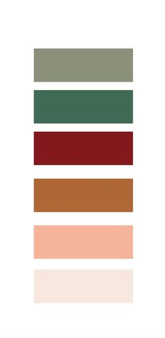 warm color palette