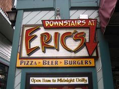 Downstairs at Erics- Good food and video games for the whole family!