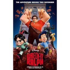 Wreck it ralph movie poster 24 x 36 18 99