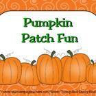 ~FREE~ Pumpkin Time practice pages for counting numbers to set 1-10 roll a dice to match numbers to sets using tens frames. Also, includes a game board to...