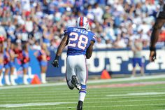 C.J. Spiller is the leading rusher in the NFL for the second week in a row. Keep on runnin' C.J.!