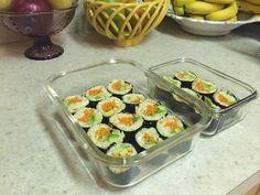 Raw Vegan Sushi Vegan Sushi, Raw Vegan, Vegan Recipes, Food, Meals, Vegan Dinner Recipes, Leaf Vegetable, Vegetarian Recipes