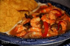 Deep South Dish: Pickled Shrimp. Great appetizer. You could adjust the spices (heat) to your own liking.