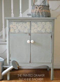 Farmhouse Record Cabinet by ThePaintedDrawer on Etsy