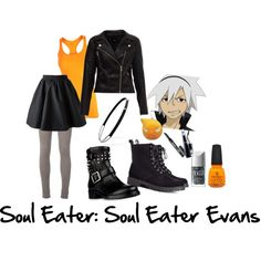 """Soul Eater: Soul Eater Evans"" by darkmoonfaery on Polyvore"