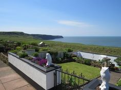 The panoramic sea views from this characterful cottage in Whitehaven are stunning!