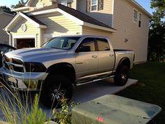 Lifted Dodge trucks