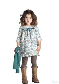 Wholesale Girls Dress - Buy 2013 Fashion Baby Girl Dresses Cute Bow Printed Kids Dresses $19.64 | DHgate
