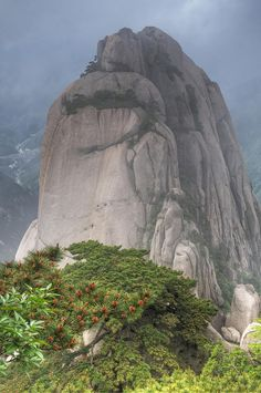 Mount Huangshan, China ~ UNESCO World Heritage Site.