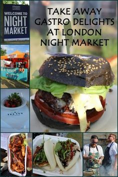 Take away gastro delights at London Night Market #London #Blog #Blogger #Market #Food
