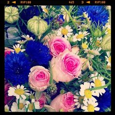 Lovely flowers from Paris from the lovely Rachel Khoo and her Little Paris Kitchen <3