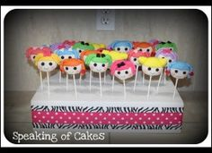 Lalaloopsy Cakes, Cookies and Cake-Pops
