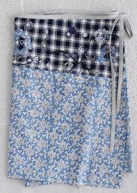 Wrap skirt & applique Dosa