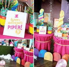 sugar rush party ideas | Read on for lots more sweet images & party details…