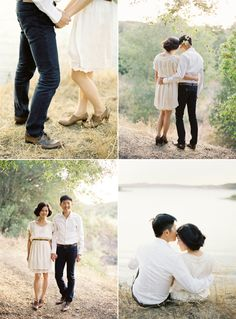 Love their outfits & the beautiful photography!  Jose Villa.