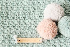 Baby deken moss stitch