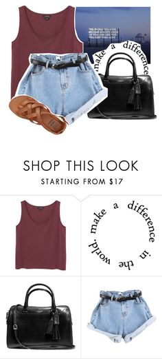 """we still got time -"" by meghan-unicorns ❤ liked on Polyvore featuring Monki, Coach and Billabong"