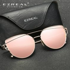 a8ed8f84f286a Women Sunglasses Double-Deck Alloy Frame Polarized Sunglasses
